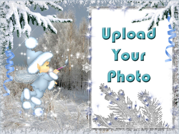 Favored Winter Photo Frame - Favored Winter Photo Frame